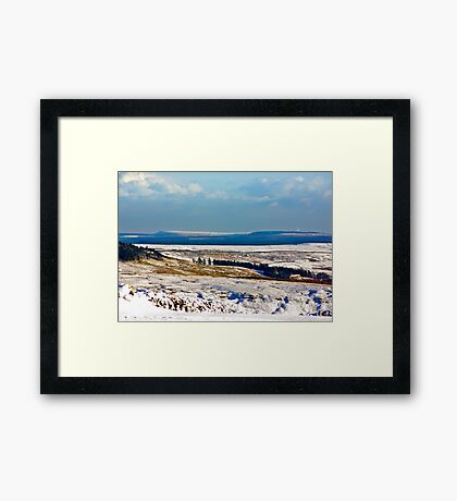Winter on the North Yorks Moors Framed Print