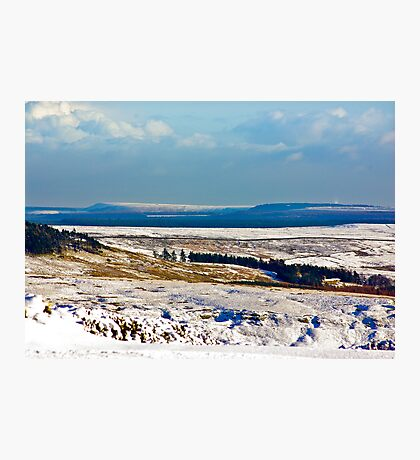 Winter on the North Yorks Moors Photographic Print