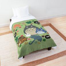 Green Totoro Wreath - My Neighbor Totoro Comforter