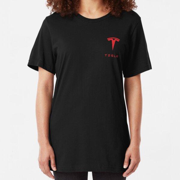 Tesla Logo Slim Fit T-Shirt