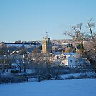 The Christmas Church by babibell