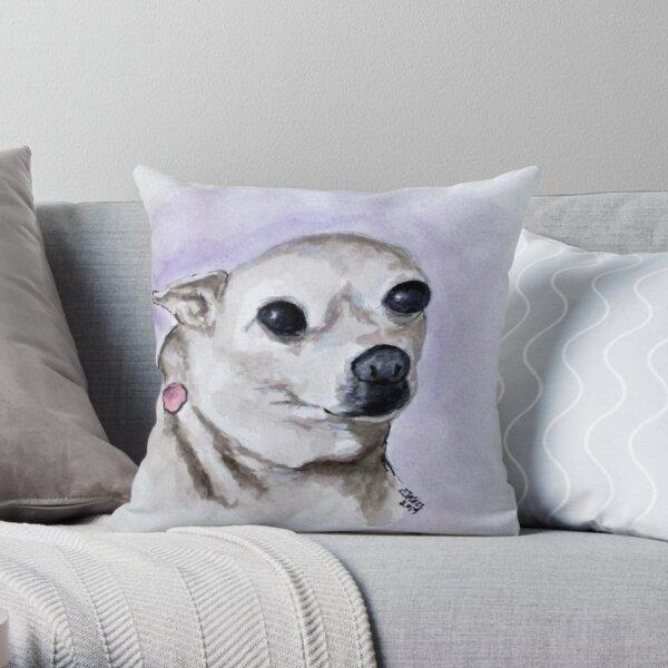 Little Paris Throw Pillow