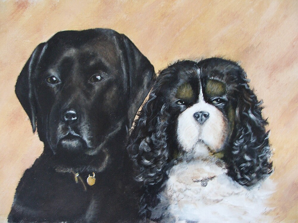 Jake And Louis by Lee Twigger