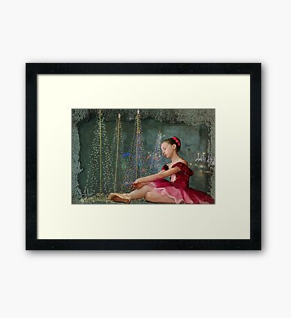 It's All About The Dream Framed Print
