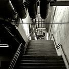 stairway by Dacey Barnes