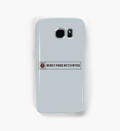 Beast Mode Activated Samsung Galaxy Case/Skin