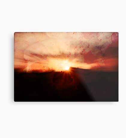 If one only had something to eat... Metal Print