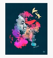 Alfred Hitchcock Hitch The Birds Photographic Print