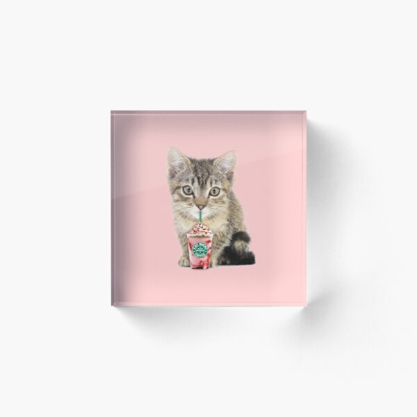 Sweet cat by Alice Monber Acrylic Block