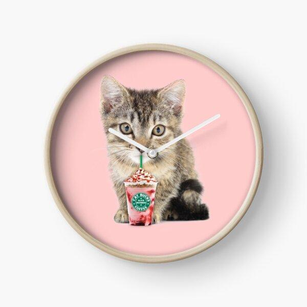 Sweet cat by Alice Monber Clock