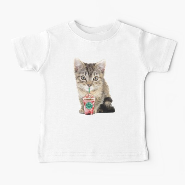 Sweet cat by Alice Monber Baby T-Shirt