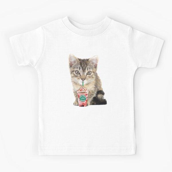 Sweet cat by Alice Monber Kids T-Shirt