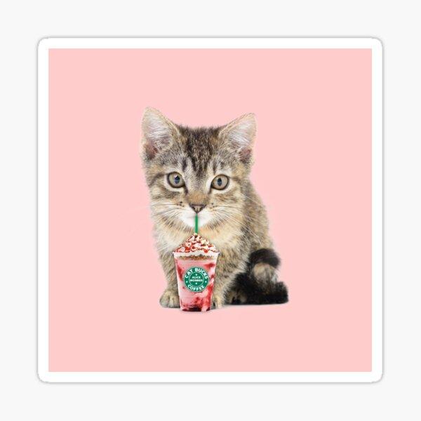Sweet cat by Alice Monber Sticker