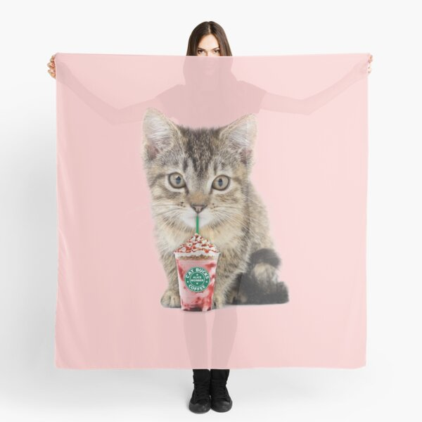 Sweet cat by Alice Monber Scarf