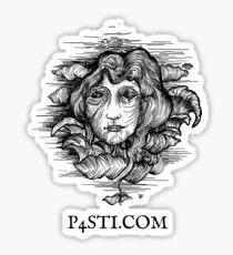 P4STI.com Sticker - Black Sticker