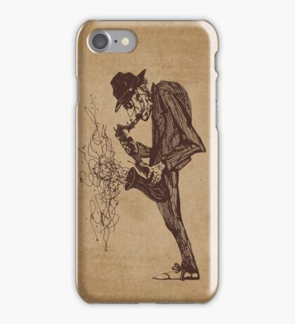 Jazzman iPhone Case/Skin