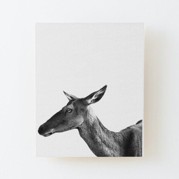 oh deer Wood Mounted Print