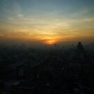 Bangkok Sunrise by Oli Johnson