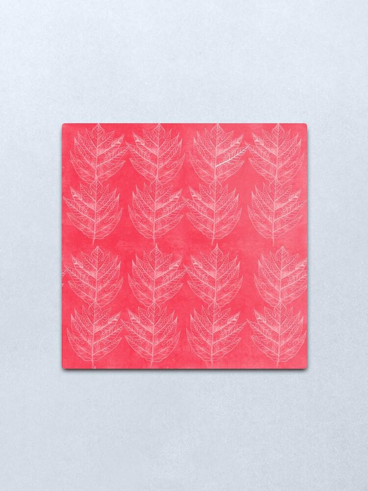 Alternate view of Leaf I Metal Print