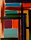 Abstract Painting by Scott Johnson by Scott Johnson