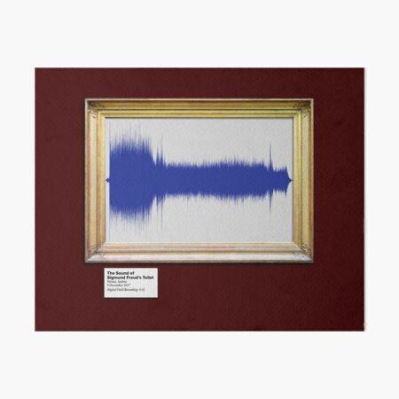 The Sound of Sigmund Freud's Toilet Art Board Print