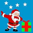 Dabbing Santa by IBMClothing