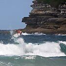 Kelly Slater - Bondi Beach Boost Show by Mick Duck