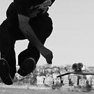 Skater - Bondi Beach by Mick Duck
