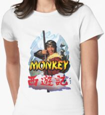 Monkey Magic Women's Fitted T-Shirt