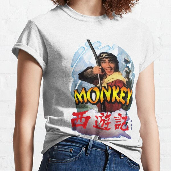 Monkey Magic Japonais Chinois comique comédie Adventure film movie T Shirt