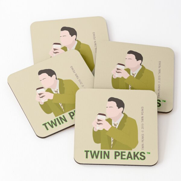 Dougie Jones Coasters (Set of 4)