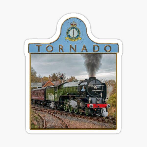 Tornado and Nameplate Sticker