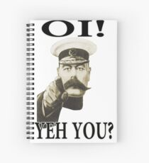 oi! yeh you Spiral Notebook