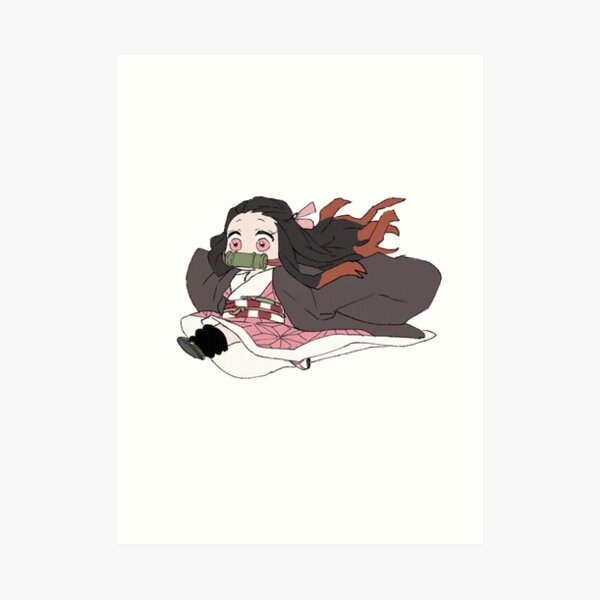 Tiny Nezuko Cuter Impression artistique