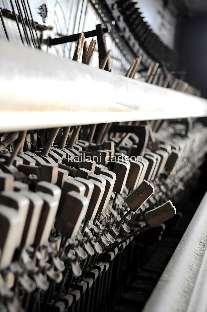 Piano Guts by kailani carlson