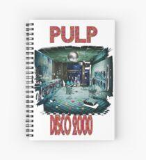 pulp disco 2000 Spiral Notebook