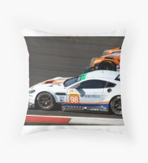 #98 Aston Martin Racing Throw Pillow