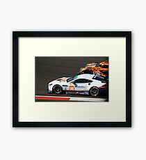 #98 Aston Martin Racing Framed Print