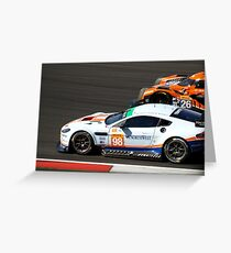 #98 Aston Martin Racing Greeting Card