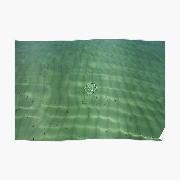 Anahata ~Heart Chakra ~ Green Poster