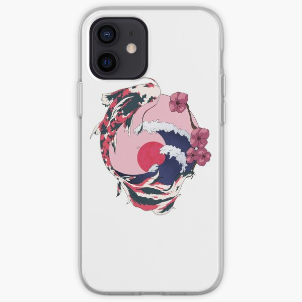 Cherryblossom Koi iPhone Soft Case
