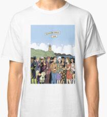 Hicksville Comics Beach Party Classic T-Shirt