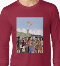 Hicksville Comics Beach Party Long Sleeve T-Shirt