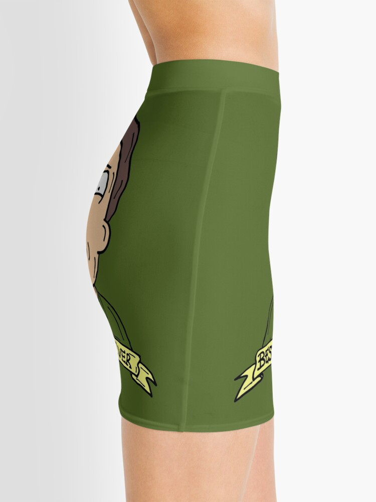 Alternate view of Jerry Smith from Rick and Morty™ : Best Dad Ever Mini Skirt