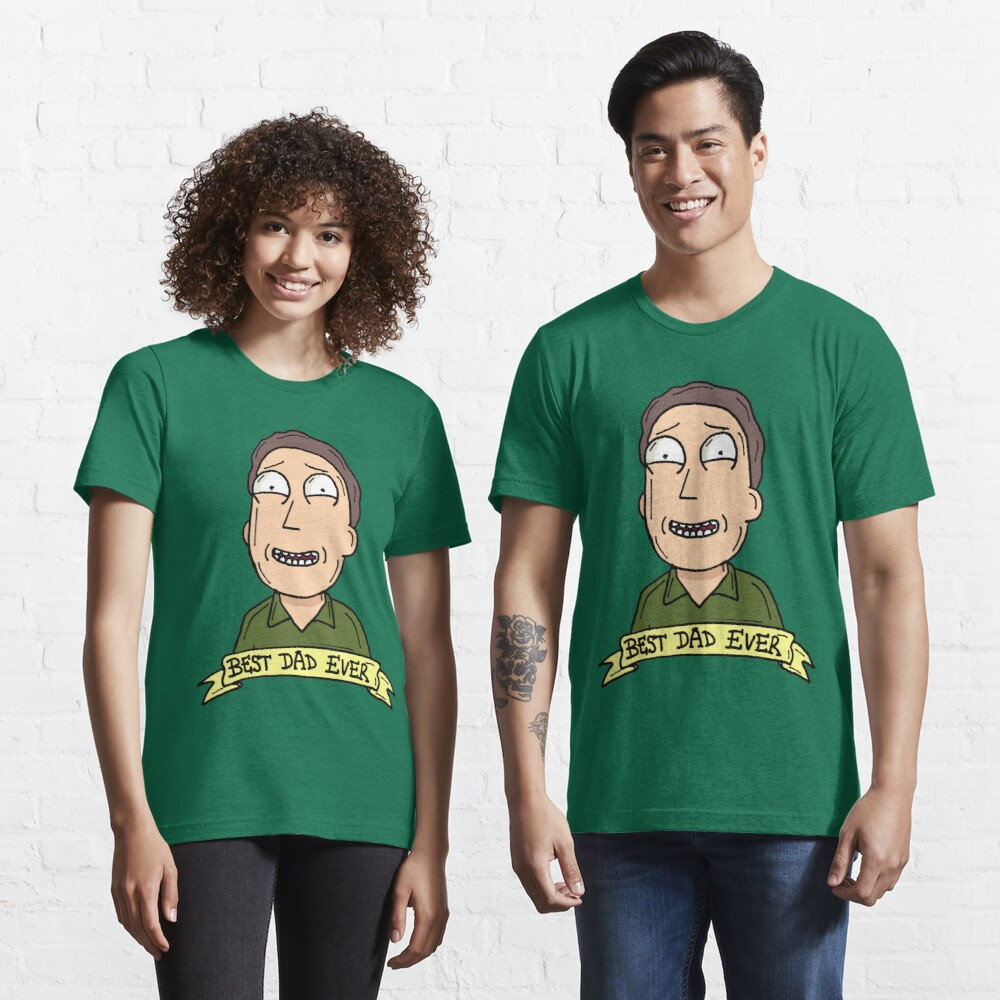 Jerry Smith from Rick and Morty™ : Best Dad Ever Essential T-Shirt