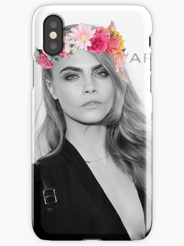"""""""Cara Delevingne"""" iPhone Cases & Covers by Alecia John ..."""