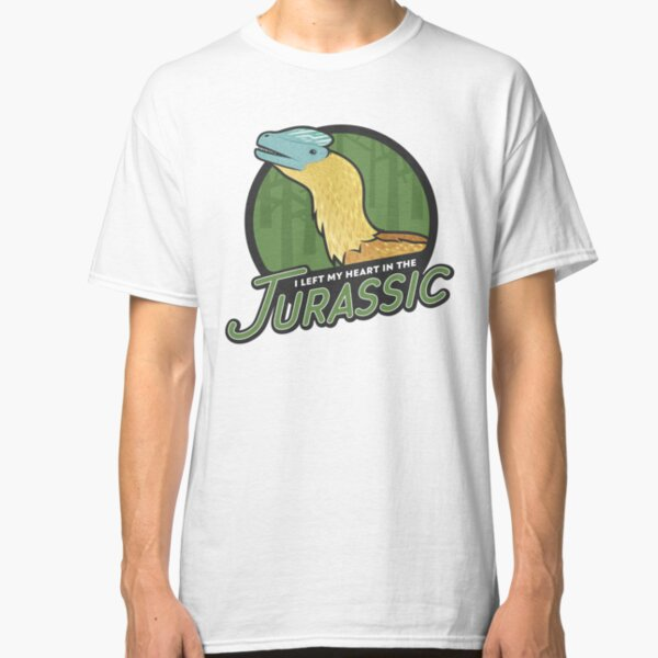 I Left My Heart in the Jurassic Classic T-Shirt