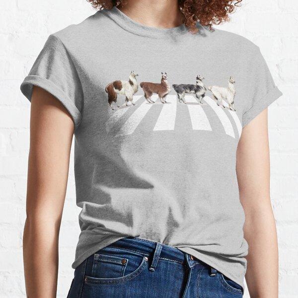 Llama The Abbey Road #1 Classic T-Shirt