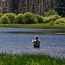 High Lake Fly Fishing by CarrieAnn