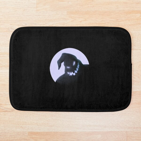 The Nightmare Before Christmas Oogie Boogie And Moon Bath Mat